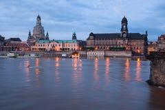 Dresden morgens Lizenzfreie Stockfotografie