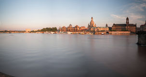 Dresden in the morning Royalty Free Stock Photo