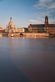 Dresden in the morning Royalty Free Stock Images