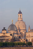 Dresden in the morning Stock Photo