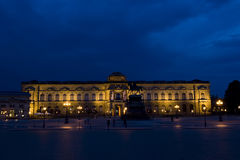 Dresden Museum Night Royalty Free Stock Photography