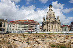 Dresden Neumarkt 02 Royalty Free Stock Photo