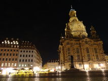 Dresden Neumarkt Stock Images