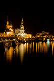 Dresden at night 2 Stock Photography