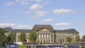 Dresden, o 28 de agosto: Construção histórica de Dresden em Alemanha Foto de Stock Royalty Free