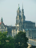 Dresden old city Stock Photography