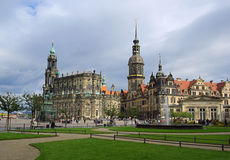 Dresden old town 07 Royalty Free Stock Images
