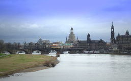 Dresden old town Royalty Free Stock Image