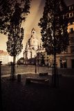 Dresden old town stock photos