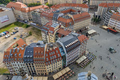 Dresden. The old town. Royalty Free Stock Photo