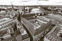 Dresden. The old town. Royalty Free Stock Photos