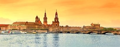 Dresden Old Town Stock Photo