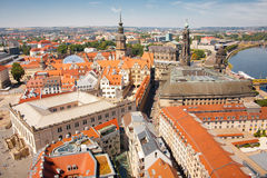 Dresden old town view Royalty Free Stock Photography