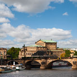 Dresden Opera House Royalty Free Stock Photos