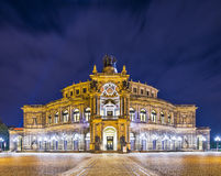 Dresden Opera House Royalty Free Stock Photo