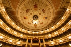 Dresden opera house indoor Stock Photography