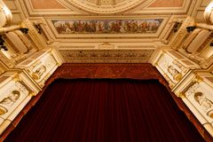 Dresden opera house indoor Stock Photo