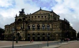 Dresden opera theatre Stock Photo