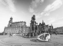 Dresden-Operntheater, Deutschland lizenzfreie stockfotos