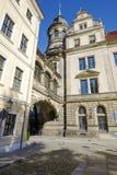 Dresden, the overhead bridge Royalty Free Stock Images