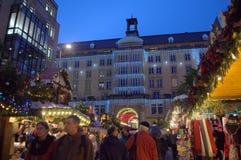 Dresden på jul Royaltyfri Foto