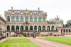 dresden pałac zwinger zdjęcie royalty free