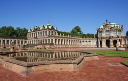 dresden pałac zwinger Obrazy Royalty Free