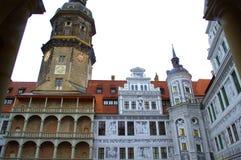 Dresden Palace beautiful facades Stock Images