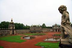Dresden. Palacio de Zwinger Fotografía de archivo