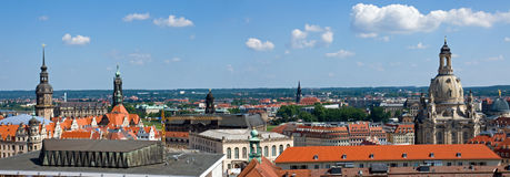 Dresden Panorama Stock Photography