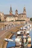Dresden pier Stock Image