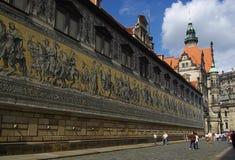 Dresden procession av Princes 02 Royaltyfri Foto