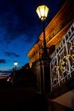 Dresden przy noc Obrazy Stock