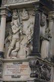 Dresden: pueden 2 2017 - Dresden, Alemania Iglesia de Frauenkirche de nuestra señora Centro medieval de la ciudad, histórico y cu fotografía de archivo