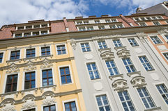 Dresden Rampische Strasse Royalty Free Stock Photos