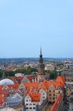 Dresden Royal Palace (castillo), Alemania Fotos de archivo libres de regalías