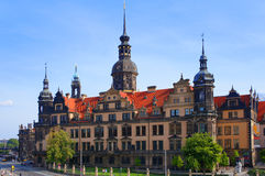 Dresden Royal Palace (Castle), Germany Royalty Free Stock Photography