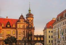 Dresden Royal Palace Royalty Free Stock Photos