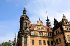 Dresden Royal palace Stock Image