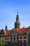 Dresden Royal Palace (slotten), Tyskland Fotografering för Bildbyråer