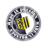 Dresden rubber stamp Royalty Free Stock Photography