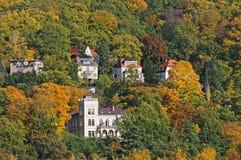 Dresden's countryside  in autumn colors Stock Photos