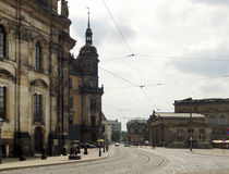 Dresden in Sachsen Stockfotos