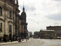 Dresden in Saksen Stock Foto's