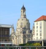 Dresden in Saksen Royalty-vrije Stock Afbeeldingen