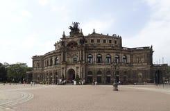 Dresden in Saksen Royalty-vrije Stock Afbeelding