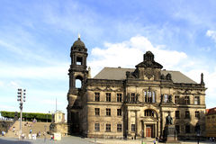 Dresden in Saxony, Germany Royalty Free Stock Photography