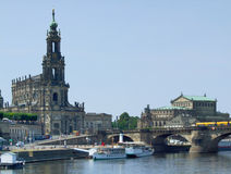 Dresden in Saxony Stock Photography