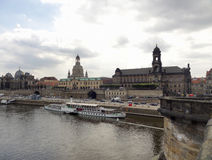 Dresden in Saxony Royalty Free Stock Images