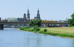 Dresden in Saxony Royalty Free Stock Image